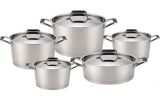 Набор кухонной посуды Fissman ELARA 4 кастрюли и сотейник (10 предметов)