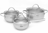 Набір кухонного посуду Fissman MARTINEZ 2 каструлі і ківш