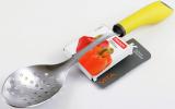 Ложка кухарська Fissman Vita 34см перфорована з нержавіючої сталі