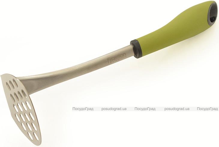 Прес для картоплі Fissman Perfetto 28см з нержавіючої сталі