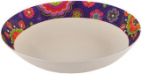 Тарелка суповая Fissman Purpur Ø22см из бамбукового волокна
