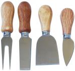 Набір 4 ножа Cheese Knife Set 13см для твердих сортів сиру
