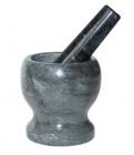 Ступа мраморная Dynasty Grind Ø8см с мраморным пестиком