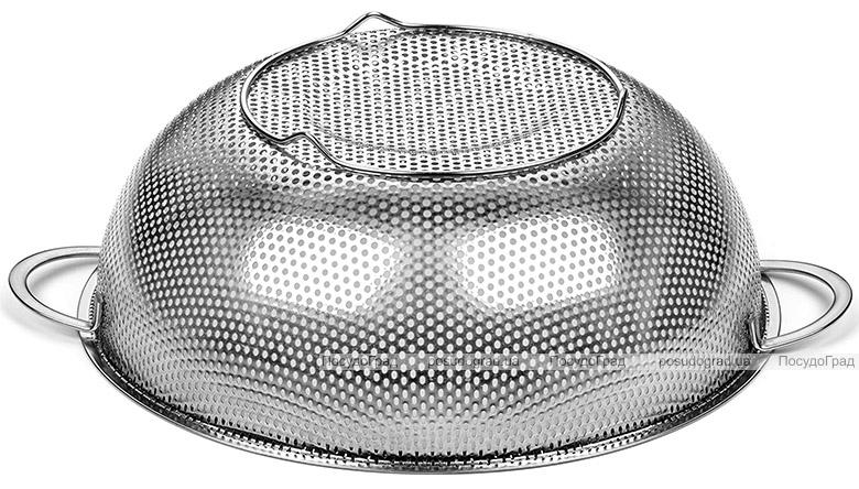 Дуршлаг Dynasty BaoPing Ø22см стальной с плоским дном
