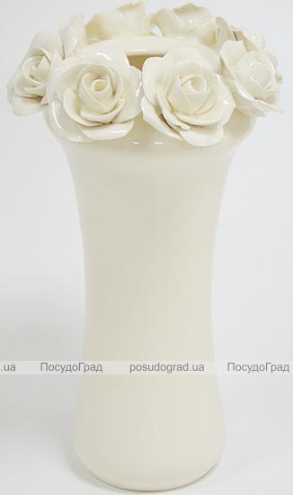 """Ваза керамическая Grand Kerama """"Розали"""" 22см"""