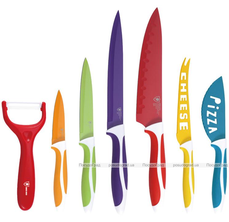 Набор ножей HOFFMAYER OMNIA 7 предметов + БОНУС!