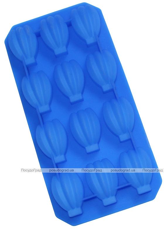 """Форма силиконовая для конфет """"Тюльпан"""" планшет 12шт"""