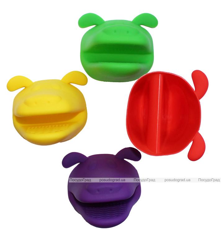 Перчатка-прихватка Собачка силиконовая 1шт