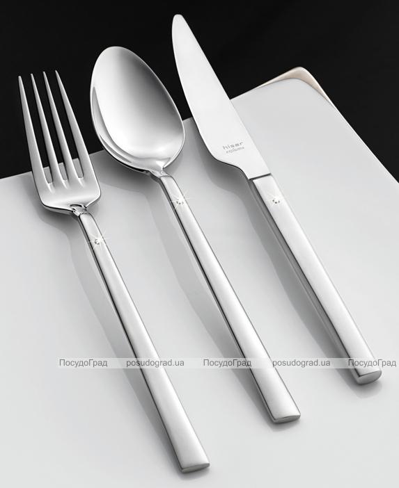 Столовые приборы Hisar Milano Diamond Swarovski 24 предмета на 6 персон