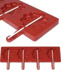 Форма Hauser Ромашка для льодяників на паличці, силіконовий планшет 350х95мм