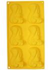 Форма силиконовая для выпечки Бельчата планшет 6шт