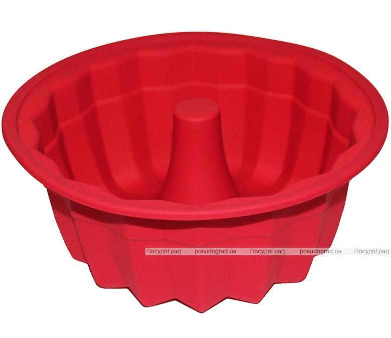 """Форма силиконовая для выпечки """"Кекс большой"""" Ø20см высота 9см"""