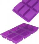 Силіконова форма для випічки 9 бісквітів 8х5х3см планшет 29х18см