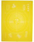 Силіконовий килимок-деко 51х67см з розміткою