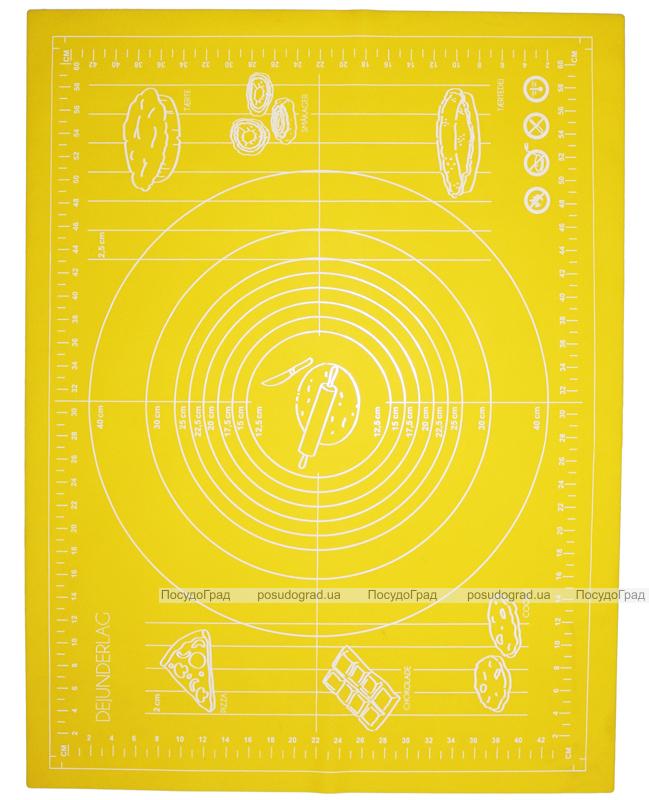Силиконовый противень-коврик 51х67см с разметкой