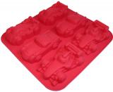 Форма силиконовая для выпекания Машинки планшет 6шт