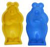 """Силиконовая форма для выпечки """"Медведь"""" 26х14см"""