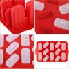 Форма для мороженого и замороженного сока 12 ячеек, силиконовая