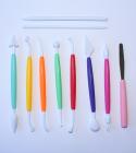 Набор инструментов Pastry для мастики и марципана 10 предметов