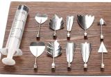Набор инструментов Jelly Art Tool ser-D для 3D декорирования желе 10 насадок