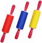 Скалка Мини силиконовая 24см цветная