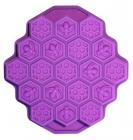Форма силіконова Hauser Бджолині стільники, деко 24х23см