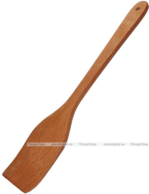 Лопатка кухонная деревянная (бук) 31см