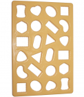 Форма Cookie Cutter для вырубки печенья 33х23см 24 ячейки