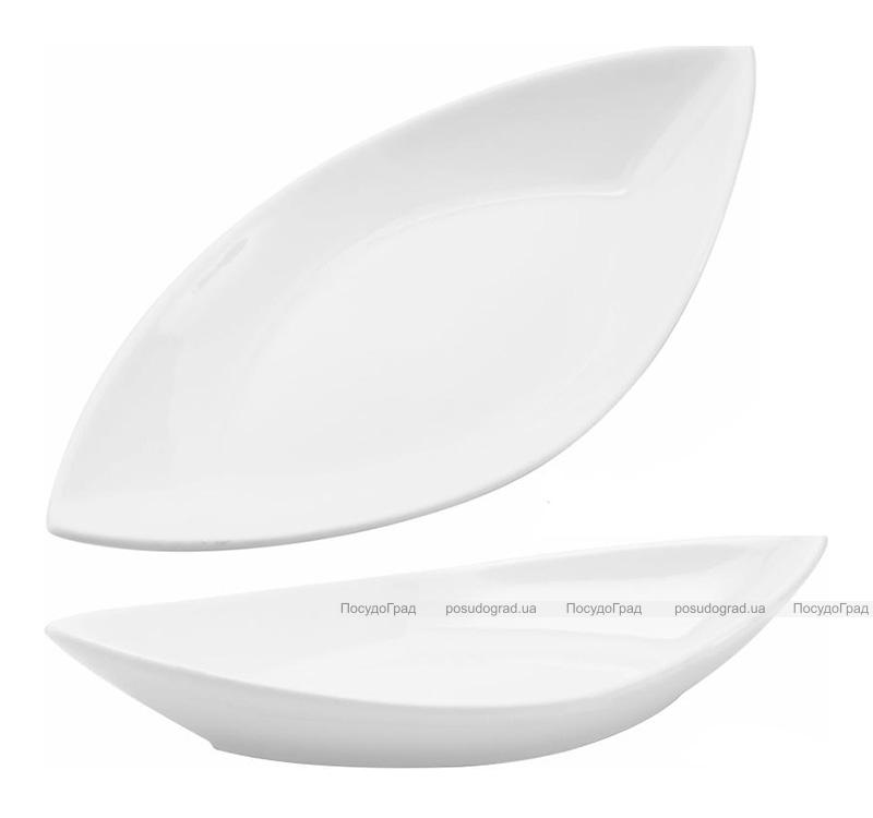 Набор 8 сервировочных блюд Helfer Лодочка 21х10см белые, фарфор