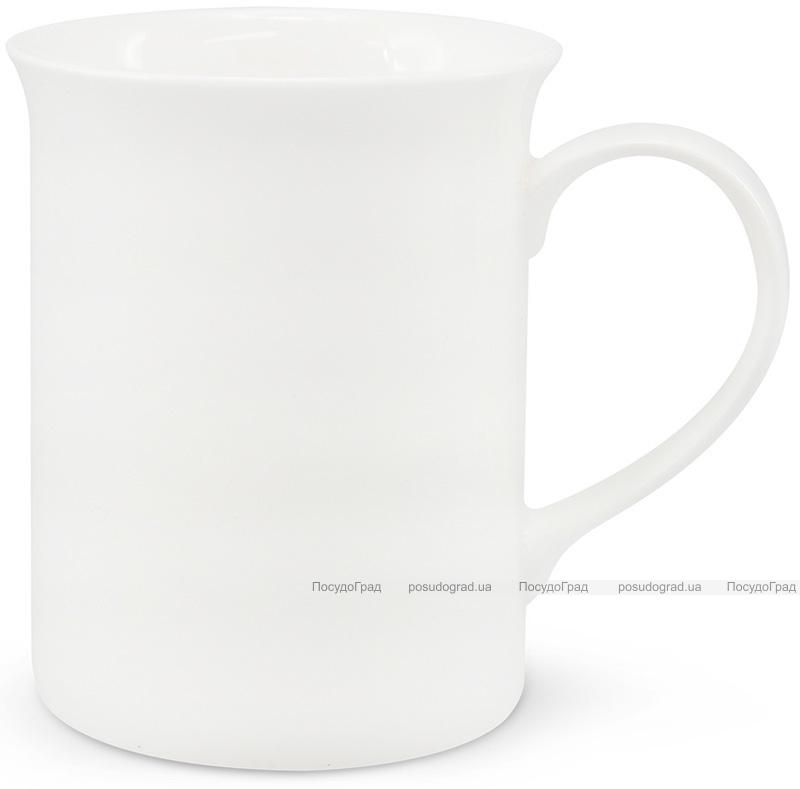 Набор 6 чашек Helfer 300мл (Ø8х10см) белые, фарфор