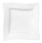 Набор 6 квадратных тарелок Helfer 15х15см белые, фарфор