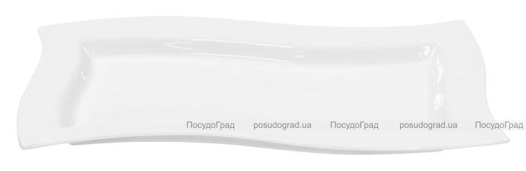 Набор 6 сервировочных блюд Helfer 21х10см белые, фарфор