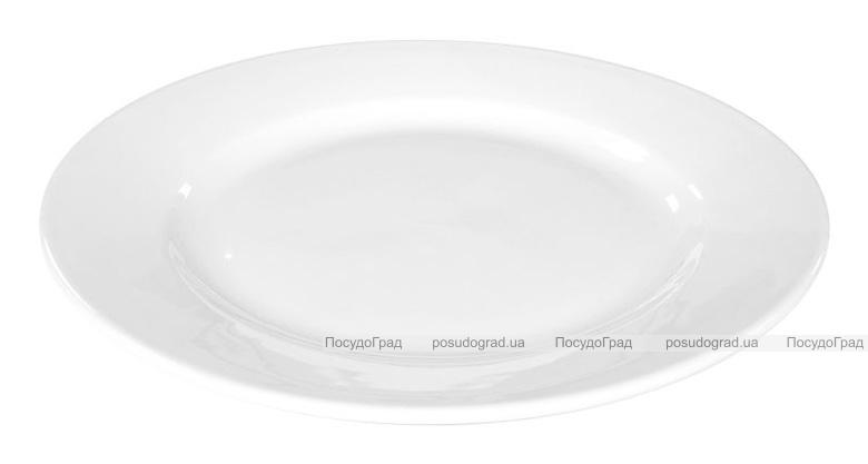 Набор 8 тарелок закусочных Helfer Ø20см белые, фарфор