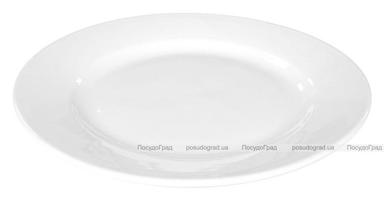 Набор 6 тарелок мелких Helfer Ø23см белые, фарфор