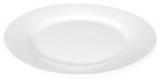 Набор 4 тарелок мелких Helfer Ø25см белые, фарфор