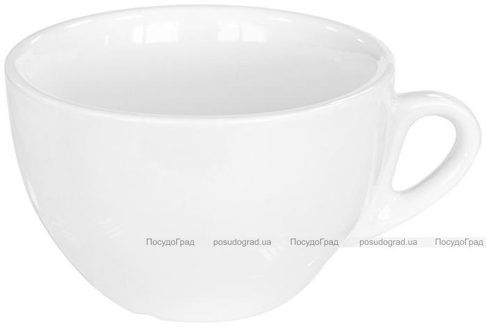 Набор 12 чашек Helfer 260мл (Ø10х6.5см) белые, фарфор