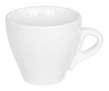 Набор 12 чашек для эспрессо Helfer 80мл (Ø6.5х6см) белые, фарфор