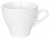 Набор 8 чашек для капучино Helfer 160мл (Ø8.5х7см) белые, фарфор