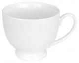 Набір 6 чашок Helfer 185мл (Ø8х6см) білі, фарфор
