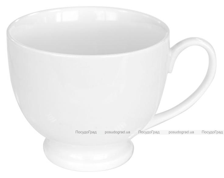 Набор 6 чашек Helfer 185мл (Ø8х6см) белые, фарфор
