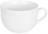 Набор 6 кружек Джамбо Helfer 450мл (Ø11х8.1см) белые, фарфор
