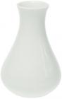 Набор 6 ваз Helfer 11см белые, фарфор