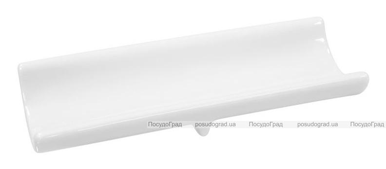 Набор 6 подставок под осибори (влажные салфетки) Helfer 14х5х2см белые, фарфор