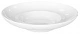 Набор 6 тарелок глубоких Helfer Baden Ø26см с широкими полями белые, фарфор