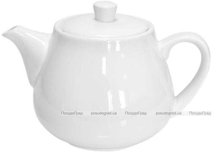 Набор 2 заварочных чайника Helfer Baden заварник 700мл белые, фарфор