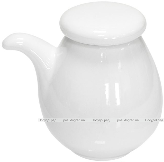 Набор 6 емкостей для соуса Helfer 8см белые, фарфор