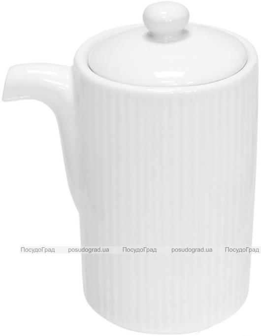 Набор 6 емкостей для соуса Helfer Ø5.7х8.5см белые, фарфор