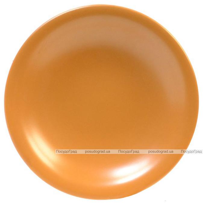 Набір 6 супових тарілок Keramia Теракота Ø22см, кераміка