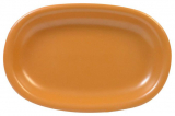 Набір 3 овальних блюда Keramia Теракота 22х15х3см, кераміка