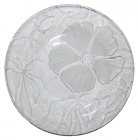 Тарелка KIG Flora Ø25см матовый цветок